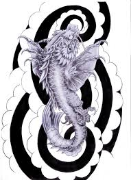 free dragon and wizard tattoo design photos pictures and
