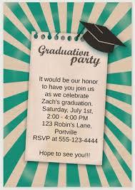 grad party invitations 19 free printable graduation invitations templates