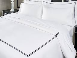 embroidered linens kimpton style