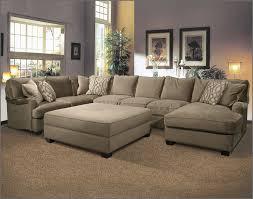 Sectional Sofas U Shaped U Shaped Fabric Sectional Sofa With Large Ottoman On