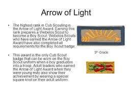 Cub Scout Arrow Of Light Awards Ct The Advancement Trail On The Advancement Trail A Cub