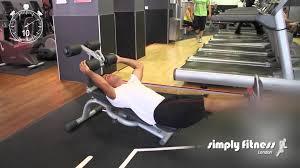 30 second exercises leg raises on sit up bench youtube