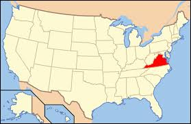 Outline Map Of The United States by Outline Of Virginia Wikipedia