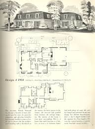 Edwardian House Plans by Vintage House Plan Vintage House Plans 1970s French Mansards