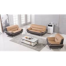 Brown Leather Living Room Set American Eagle Furniture 3 Arcadia Collection