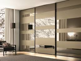 Closet With Mirror Doors Bathroom Mirrored Closet Doors Bifold Grey Sliding Wardrobe