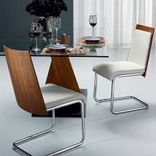 Dining Chairs White Leather Dining Rooms Mesmerizing Chrome And Black Leather Dining Room