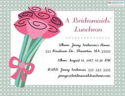 bridesmaid luncheon invitations bridesmaids luncheon invitations