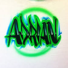 Name Style Design by Airbrush Name On T Shirt U2013 Airbrush Brothers