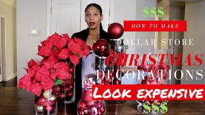diy christmas decoration ideas dollar tree christmas decor youtube