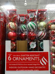 large shatter resistant ornaments