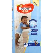 huggies gold huggies gold disposable nappies for boys size 4 54 nappies clicks