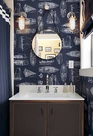 wallpaper ideas for bathrooms 28 stunning wallpaper ideas your home needs freshome