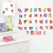 Letter Wall Decals For Nursery Bedroom Decor Alphabet Wall Stickers For Rooms