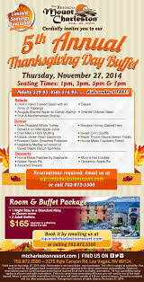 11 27 5th annual thanksgiving day buffetdiscover a new tradition
