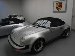 porsche garage speedster 3 2 1989 silver 6000 kms 1974 1989 garage garhmer