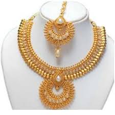 ladies necklace images Manufacturer of 22kt gold ladies necklace set jewelxy 35569 jpg