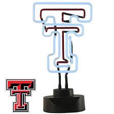 texas tech neon light texas tech red raiders table top neon light buy online in oman