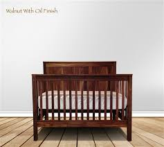footprint panel crib