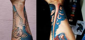 one piece tattoo picture popeye and one piece two tattoos one idea