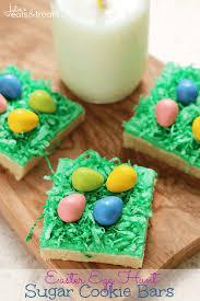sugar easter egg easter egg hunt sugar cookie bars julie s eats treats
