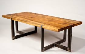 rustic metal and wood dining table furniture design ideas exquisite modern rustic furniture set