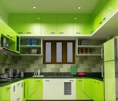 excellent green kitchen with painted green kitchen cabinets