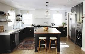 kitchen dark kitchen with vintage furniture with open shelves