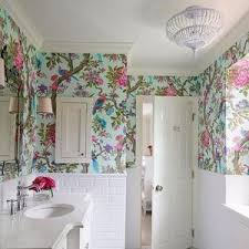 funky bathroom wallpaper ideas tropical bathroom decor pictures ideas tips from decoration tribal