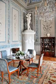 Esszimmertisch Und St Le Ebay Der Blaue Salon Mit Möbeln Im Stil Des Empire Und Aphrodite Am