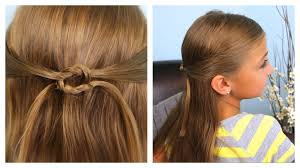 pullbacks into square knot daddy u0027do hairstyles cute girls