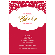 holiday invitation cards holiday open house einvite holiday cards holiday invitations