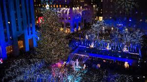 rockefeller tree lighting draws thousands to kick