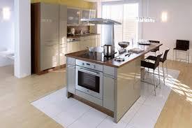 exemple de cuisine ouverte charmant modã le de cuisine avec ilot central et exemple en u