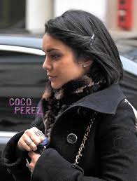 parisian bob hairstyle vanessa hudgens bobs around paris cocoperez com