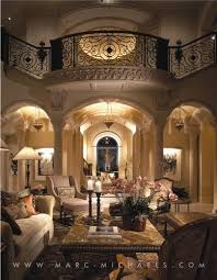 MarcMichaels Interior Design Mediterranean Living Room - Mediterranean home interior design