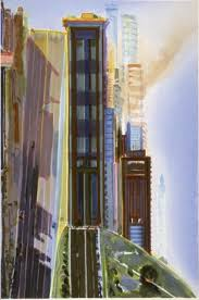 Wayne Thiebaud Landscapes by Http Poulwebb Blogspot Fr 2010 11 Wayne Thiebaud Cityscapes Html