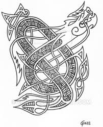 celtic dragon tattoo by 6ri22l7 on deviantart