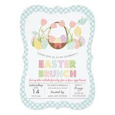 easter brunch invitations easter brunch egg invitation card