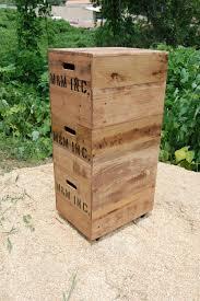 Wood File Cabinets by Wood File Cabinet File Crate File Organizer Portable File