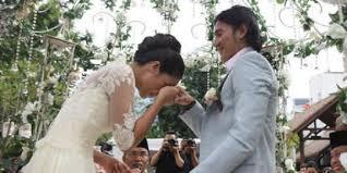Vino dan Marsha Timothy resmi menikah