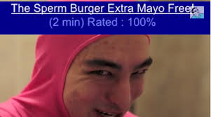 Filthy Frank Memes - the sperm burger extra mayo free filthy frank know your meme