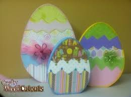 wooden easter eggs that open easter egg crafty wood cutouts