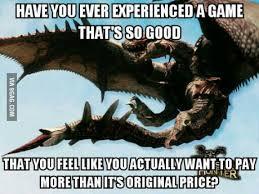 Hunter Memes - when my friends who don t play monster hunter ask me what i m