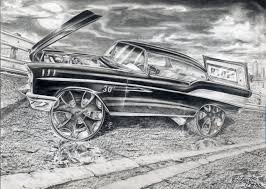 classic cars drawings robert carr rides magazine