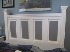 King Headboard Plans by Ain U0027t She Crafty How To Build A Headboard From An Old Door New