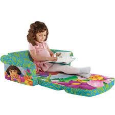 Dora The Explorer Bedroom Furniture by Marshmallow Dora The Explorer Flip Open Sofa Walmart Com