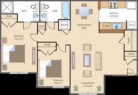 2 bedroom apartments dc floor plans rates royal courts apartments