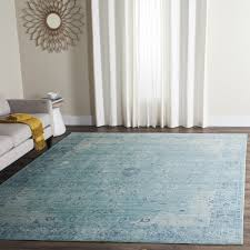 Overstock Com Home Decor Teal Watercolor Transitional Rug Valencia Val103t Safavieh Com
