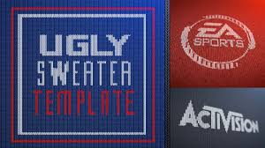 freebie ugly sweater template from video copilot toolfarm com
